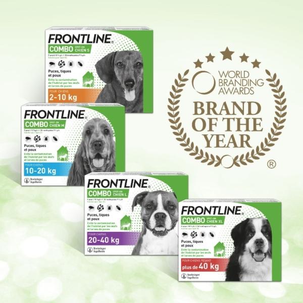 Frontline Combo - Elue marque de l'année