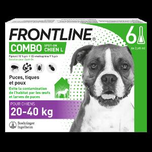 Frontline Combo - L - 6 pipettes - Produits-veto.com