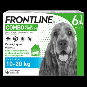 Frontline Combo - M - 6 pipettes - Produits-veto.com