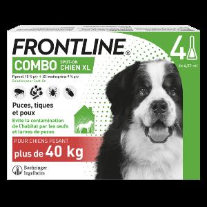 Frontline Combo - XL - 4 pipettes - Produits-veto.com