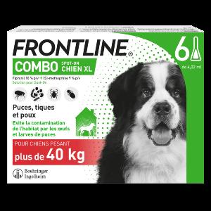 Frontline Combo - XL - 6 pipettes - Produits-veto.com
