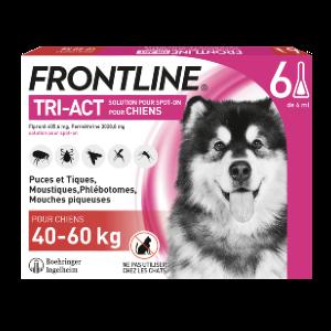 Frontline Tri-act - Chien XL - 6 pipettes - Produits-veto