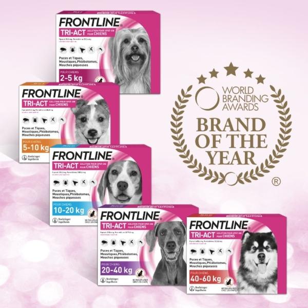 Frontline - Marque de l'année - Produits-Veto.com
