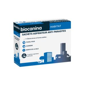 Sachets aspirateur anti-parasites | BIOCANINA