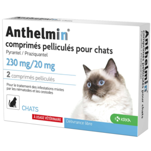 Anthelmin chat - KRKA