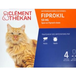 Fiprokil Chat 50 mg - CLÉMENT THÉKAN
