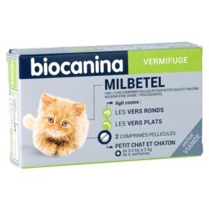 Milbetel Petit Chat et Chaton 4 mg - BIOCANINA