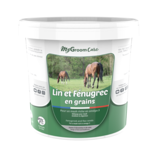 CDN Horse – MyGroom Care - Lin et Fénugrec en grains