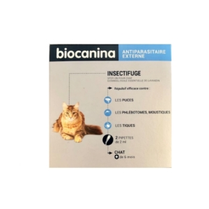 Biocanina - Insectifuge spot on chat