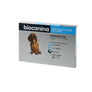 Biocanina - Fiprodog 67 mg - Petits chiens