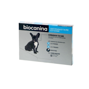 Biocanina - Fiprodog 134 mg - Chiens moyens