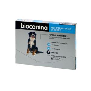 Biocanina - Fiprodog 402 mg - Très grands chiens