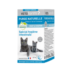 Vétoform - Purge naturelle - Chat et chaton - Cpr