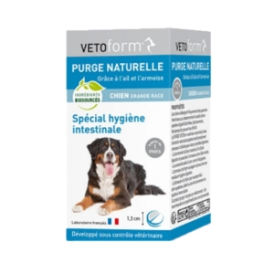 Vétoform - Purge naturelle - Chien grande race - Cpr