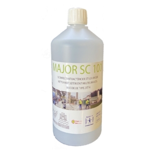 Major SC 100 - Bactericidal and yeasticidal disinfectant