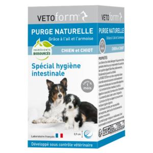 Purge naturelle - Spécial hygiène intestinale - Chien et Chiot - Cpr - VETOFORM