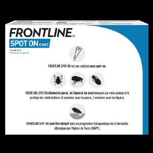 Frontline - SpotOn - Chat - 4pipettes - back - Produits-veto.com