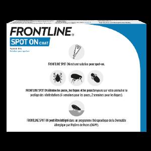 Frontline - SpotOn - Chat - 6pipettes - back - Produits-veto.com
