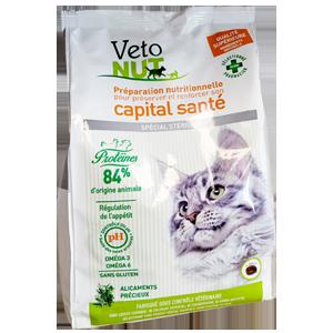 Croquettes chats - Spécial stérilisé - 100 % naturel - VETONUT